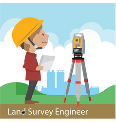 construction and civil engineering vector image