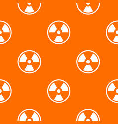danger nuclear pattern seamless vector image