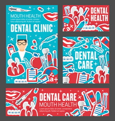 dentist tool tooth braces dentistry medicine vector image
