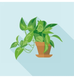 Digital green decorative office vector