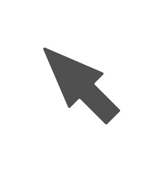 mouse cursor simple icon pointer sign vector image
