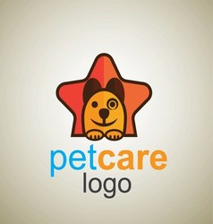 Pet care logo 7 vector