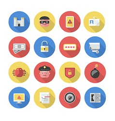 Security - Flat Icons vector