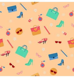Womens Fashion Seamless Pattern vector