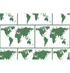World map pattern vector