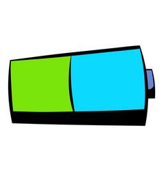 Battery icon icon cartoon vector