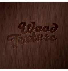 Dark wooden texture vector