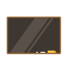 Empty board isolated Back to school Education vector image