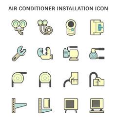 20190414 air conditioner icon 2 blue vector