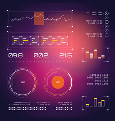 abstract future concept futuristic virtual vector image