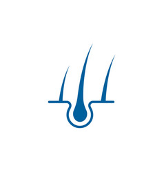 hair treatments icon vector image
