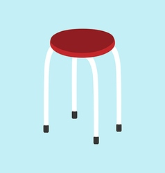 Kitchen chair icon vector image