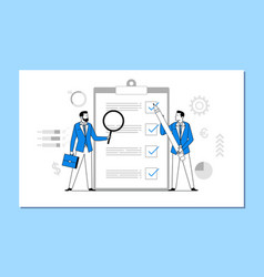 multi-tasking business concept vector image