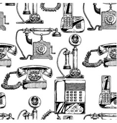 Pattern with telephone vector