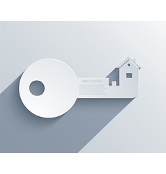 Real estate icon background Eps10 vector