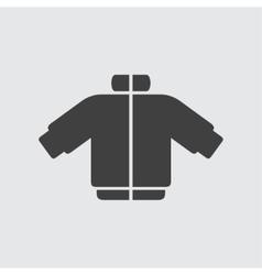 Coat icon vector image vector image