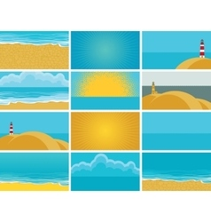 business cards for travel agency vector image vector image
