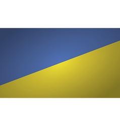 ukrain flag vector image