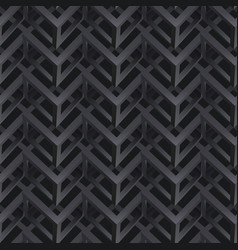 Abstract pattern 3d geometric figures vector