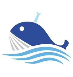Balena Stilizzata vector