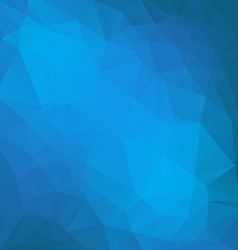 BLUE POLY vector image