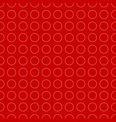 Colorful repeatable circle pattern art vector