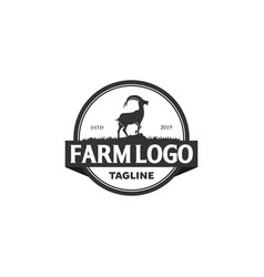 Goat logo designs inspirations vector