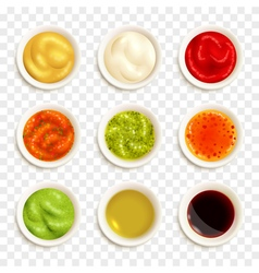 Set Of Sauce Icons vector