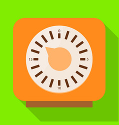Timer and technology symbol vector