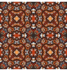 seamless indian ethnic tribal Geometric print vector image