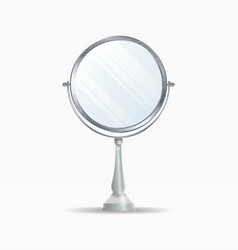realistic mirrors set mirror frames or vector image