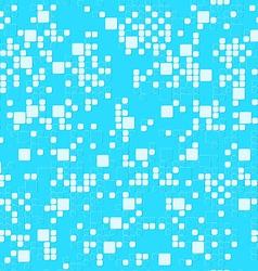 Aqua square bubbles vector