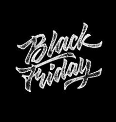 Black friday sale lettering badge vector