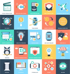 Business Concepts Icons 6 vector