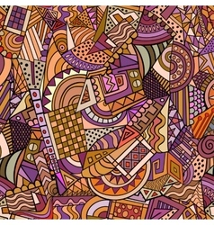 Geometric forms seamless pattern vector