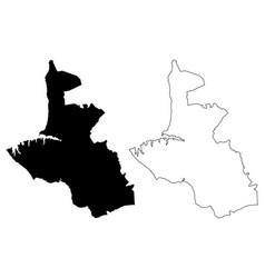 sevastopol map vector image