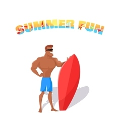 Summer Fun Banner Concept Design vector