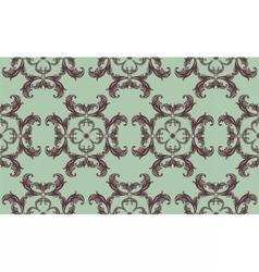 Vintage floral ornament pattern vector