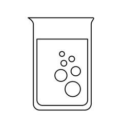 tube test isolated icon design vector image