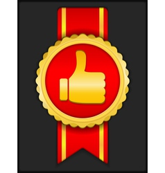 Best Choice Medal vector image vector image