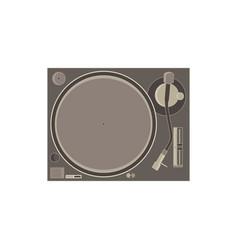 dj mixer icon music party audio console control vector image vector image