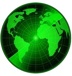 abstract radar vector image