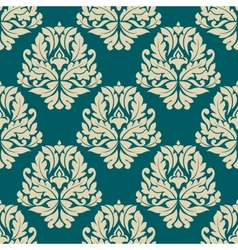 Dainty damask style seamless pattern vector image vector image