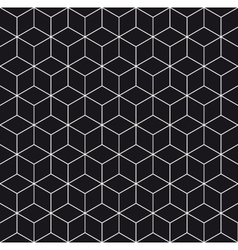 pattern cube 3 vector image