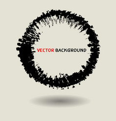 Abstract circle texture background template vector
