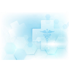 Abstract geometric shape science and technology vector