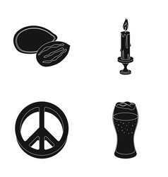 Alcohol cooking and other web icon in black style vector