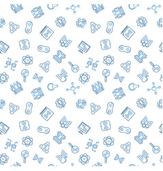 Cloning outline simple seamless pattern vector