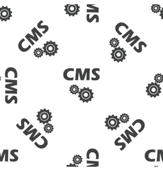 CMS settings pattern vector