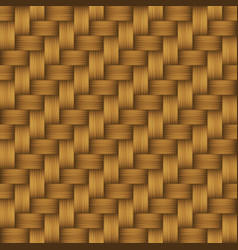 decorative weave matting seamless pattern vector image
